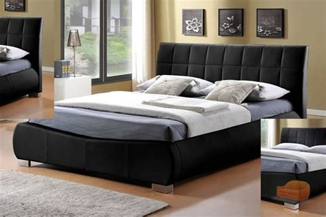 Leather Bed Uk by Leather Beds