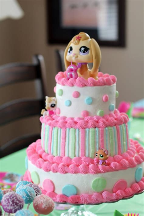 Birthday Cake Shop by Say It Sweetly A Littlest Pet Shop Birthday Cake
