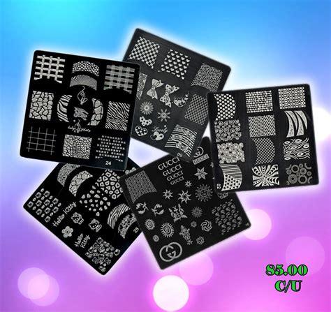 imagenes de uñas pintadas con sellos sellos para u 241 as decoracion de u 241 as