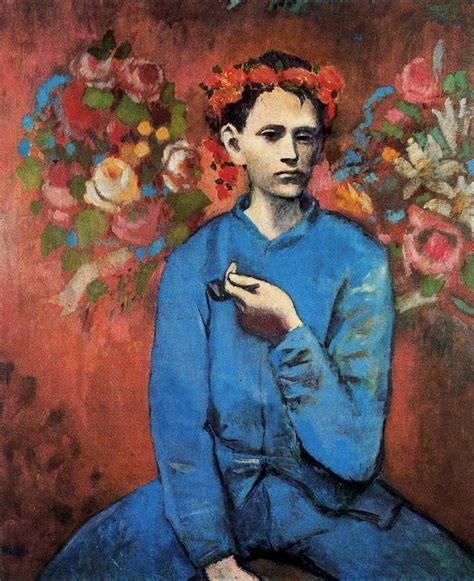 picasso paintings boy and picasso blue period painting another fabulous