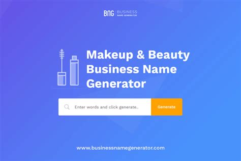 makeup beauty business  generator instant
