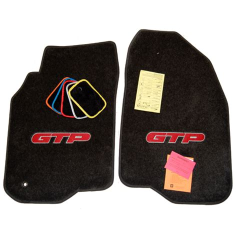 Pontiac Grand Prix Floor Mats by Pontiac Grand Prix Gxp Floor Mats Set 2004 2009