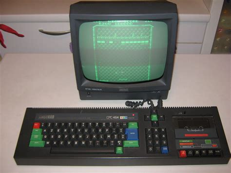 Monochromatic Color by Amstrad Cpc 464 French Monitor Gt65 Vari Accessori
