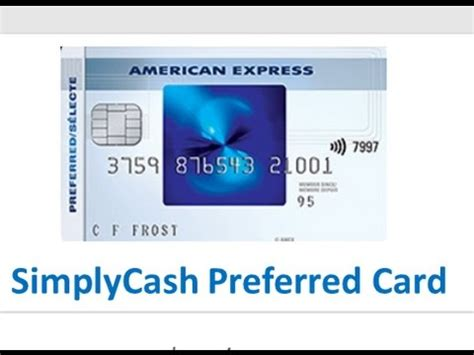 Amex Gift Card Cash Back - american express simplycash cash back credit cards youtube