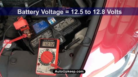 test alternator voltage output autoupkeepcom