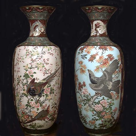 Japanese Vases Makers Marks by Cloisonne Vase Marks Images