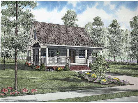 Country Cottage House Plans With Porches Shelby Cove Country Cottage Home Plan 055d 0632 House Plans And More