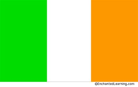 what do the colors mean on the irish flag pics of irelands flag