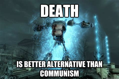 better alternative to is better alternative than communism in memorum