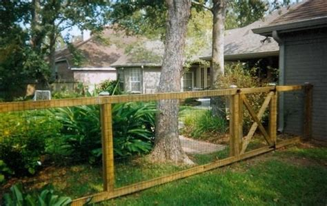 Wood And Wire Trellis Wood And Wire Fence Outdoor Inspiration