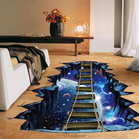 large  cosmic space wall sticker galaxy star bridge