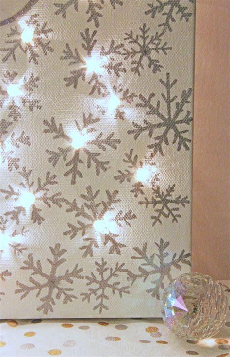 lighted christmas canvas christmas