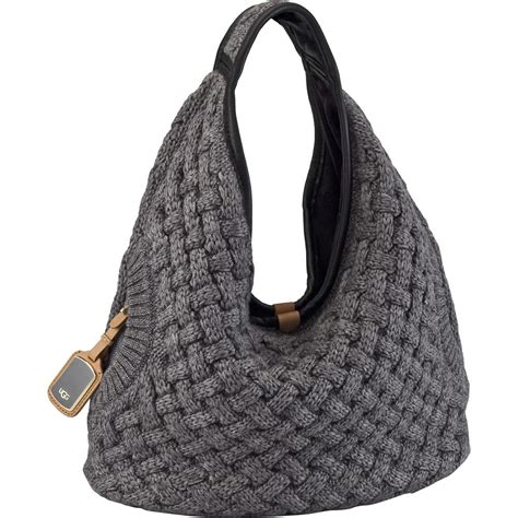 knit bag ugg 174 knit hobo bag s glenn