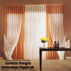 Contemporary Orange Curtains Designs Modern Orange Tab Curtain Design Curtain