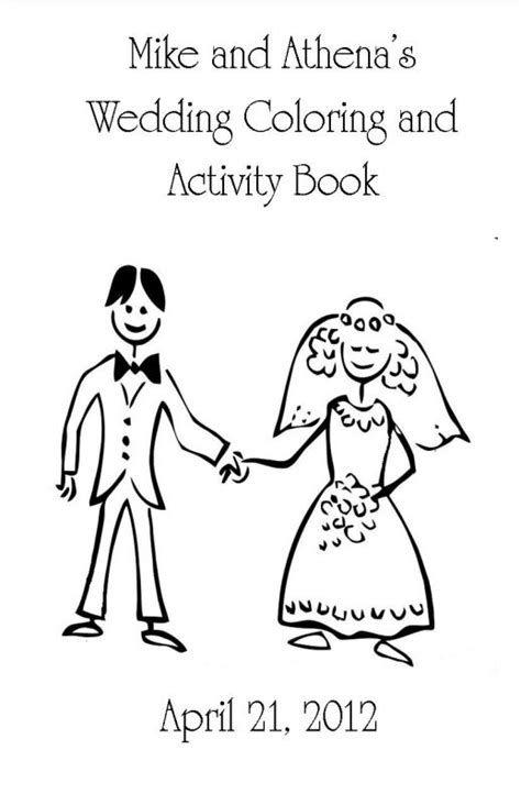 Wedding Coloring Book Cover by Coloring And Activity Book Weddingbee Photo Gallery