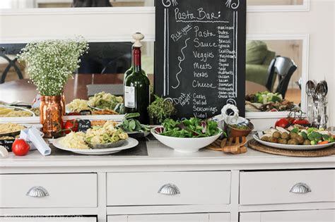 10 tips to hosting your best pasta bar