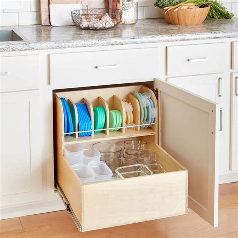 Build An Ultimate Container Storage Cabinet The Family Storage Containers For Kitchen Cabinets