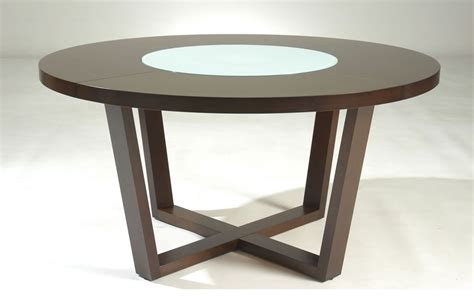 designer kitchen tables round shaped solid wood dining table flint michigan nscafe61