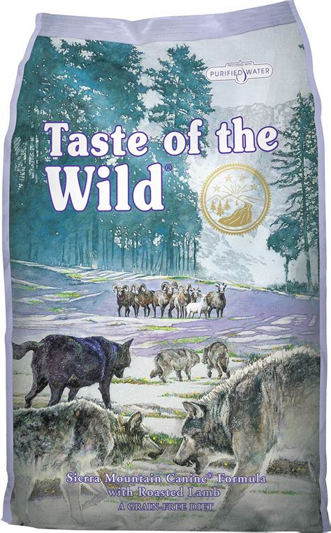 taste of the large breed puppy taste of the mountain food happy cafe express