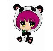 Cute Panda Chibi Girl Tonned By X XAnimeNerdx
