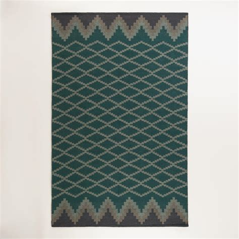 World Market Outdoor Rugs Nadine Lattice Flatweave Indoor Outdoor Rug World Market