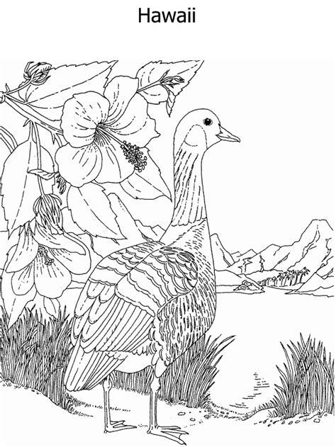 secretary bird coloring page flying bird outline ready to perch stock vector