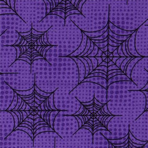 spider web pattern paper purple halloween fabric spider web designer fabric