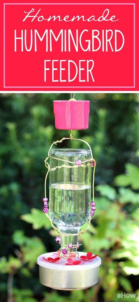 homemade hummingbird feeder homemade