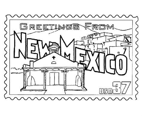 new mexico state colors new mexico state st coloring page usa coloring pages
