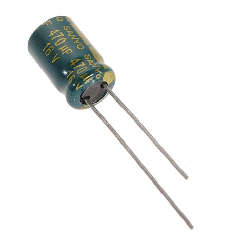 1uf 16v electrolytic capacitor 470uf 16v 105c radial electrolytic capacitors component 8x11 mm aluminum us 0 85