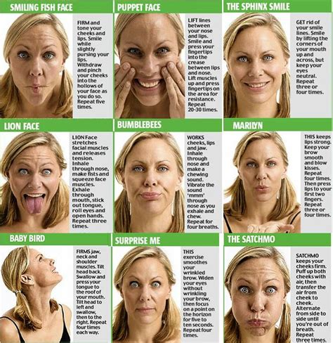 how to get back to shape after c section 17 best ideas about facial muscle exercises on pinterest