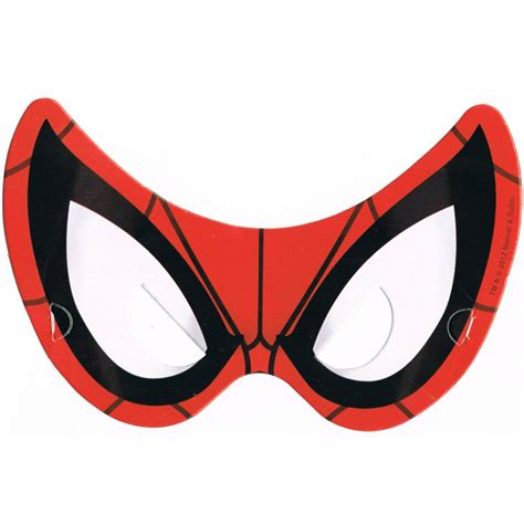 results black spiderman printable masks calendar 2015