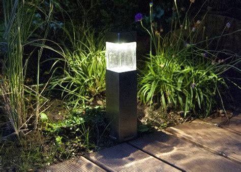 solar für garten duracell solar led au 223 enleuchte aus glas und geb 252 rstetem