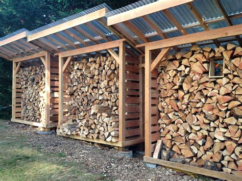 fire wood sheds     build   firewood