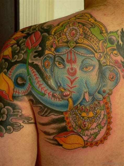 ganesh tattoos 50 great ganesha tattoos on back