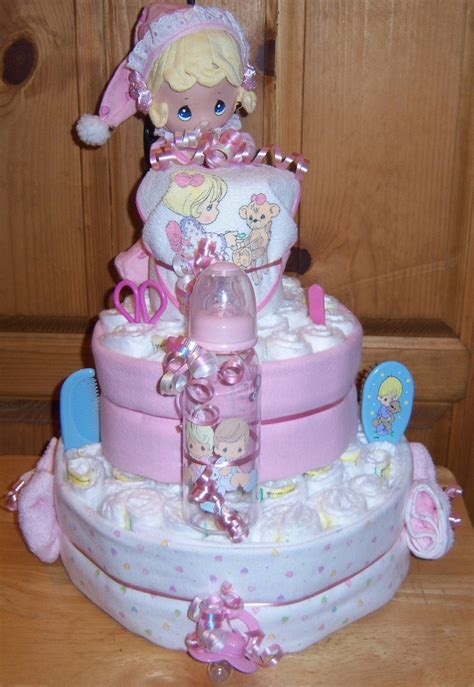 Precious Moments Baby Shower by Baby Shower Precious Moments 3 Tier Cake By