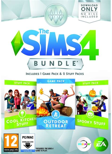 the sims 2 pack sims 4 bundle pack 2 pc mac