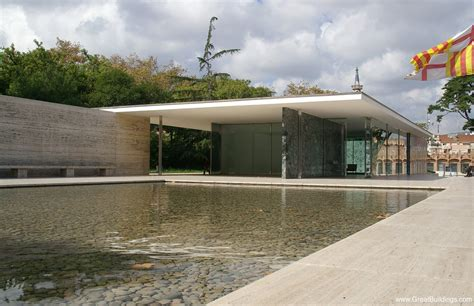 barcelona pavillon 1929 barcelona pavilion by ludwig mies der rohe at