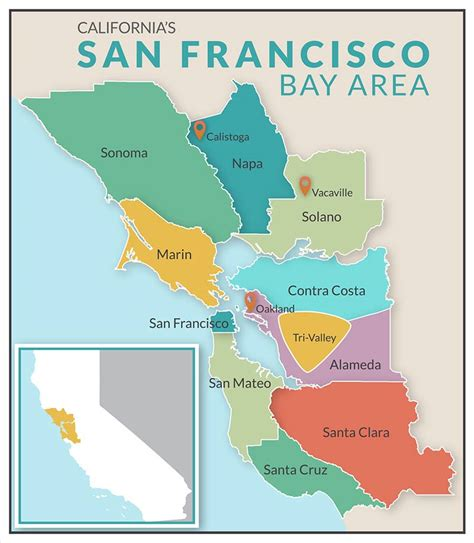 map of san francisco bay area san francisco bay area images