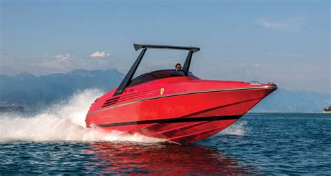 speed boat logo you can own this extremely rare riva ferrari speedboat