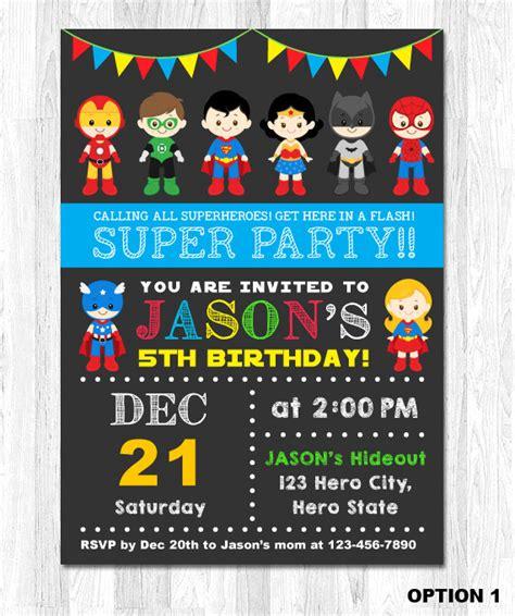 printable superhero stationery superhero birthday invitation superhero boy invitation