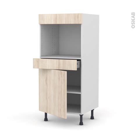 four encastrable porte tiroir colonne de cuisine n 176 56 four encastrable niche 45 ikoro
