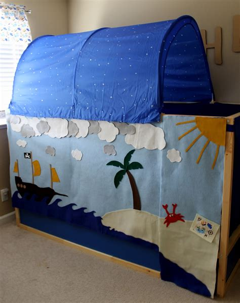 kura bed tent mama s felt cafe felt pirate fort ikea kura bed