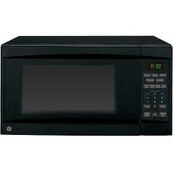 ge 1 1 cu ft black countertop microwave oven microwave ovens