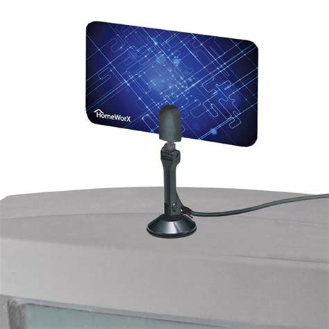 Antena Digital Tv Led led hdtv reviews homeworx hdtv digital flat antenna uhf vhf hw110an
