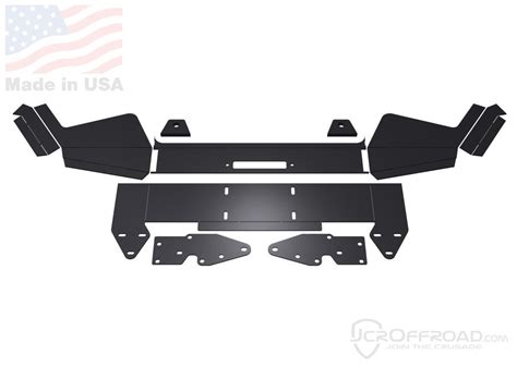diy offroad cer jcr offroad diy front winch bumper for jeep xj