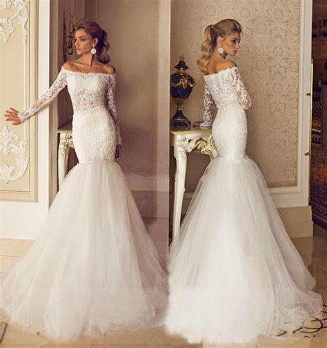 gold lace appliques long sleeves white tulle ball gowns wedding dress romantic 2015 galia lahav wedding dresses bateau neck long