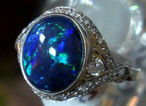 black opal gallery for gt australian black opal ring