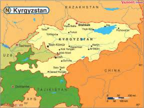 map of a m cus travel vaccination information for kyrgyzstan travel