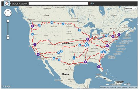 map of tracks in usa helps amtrak track a from anywhere amtrak